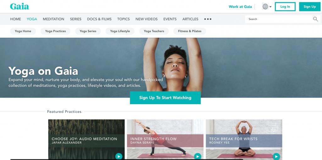 Gaia Yoga Streaming Videos