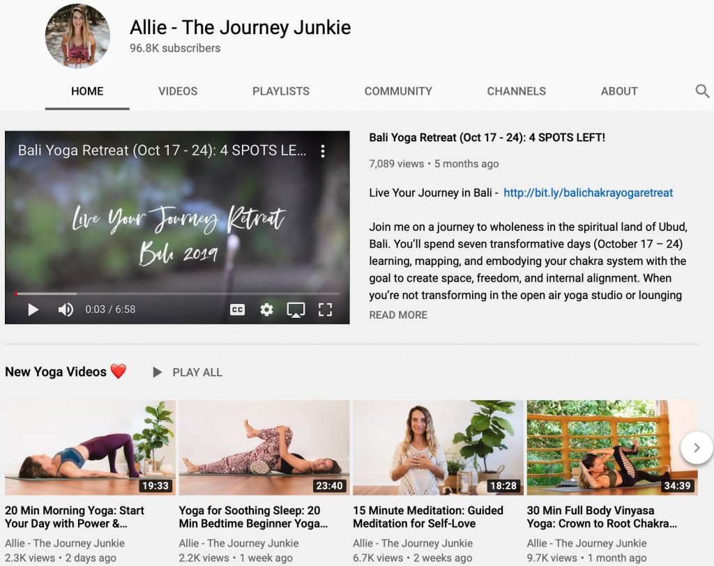 The Journey Junkie Video Review