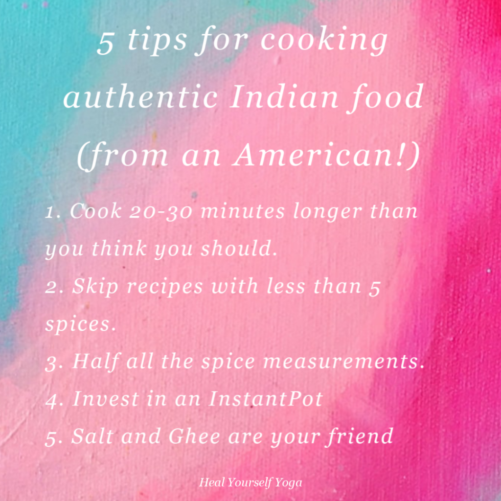 5 tips for cooking authentic Indian food