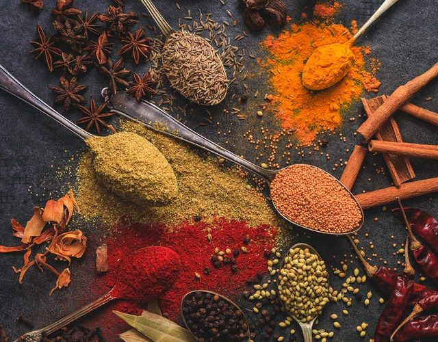 spices for authentic Indian food